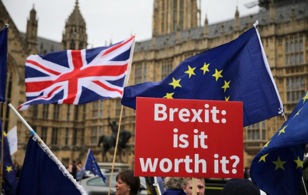 Manifestation pro Brexit