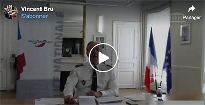 Audition Directeur Général de la Police